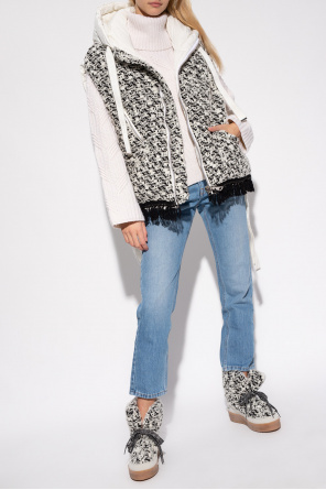 Vest with wool insert od Khrisjoy