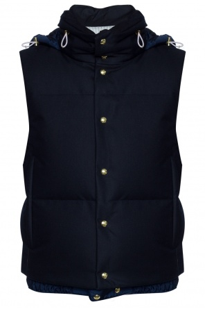 Quilted down vest od Moncler Gamme Bleu