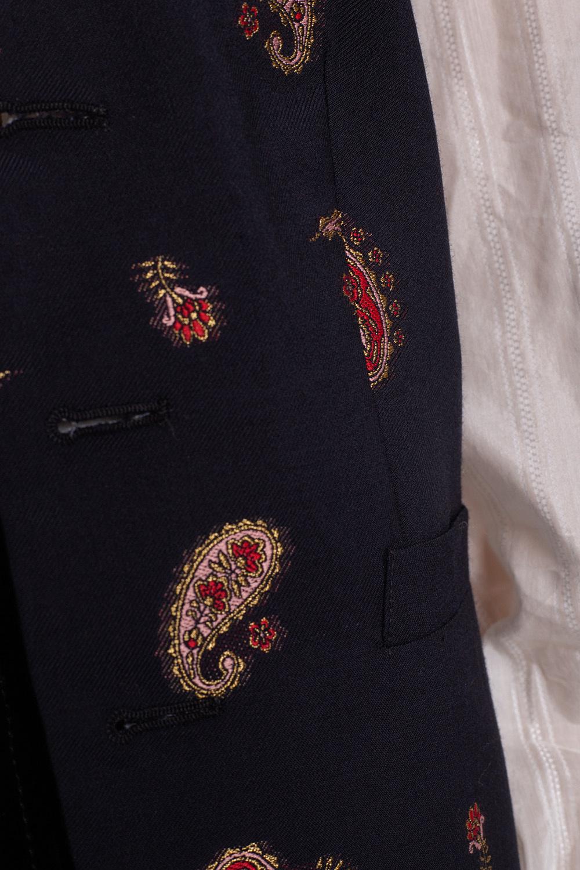 Etro Kamizelka z orientalnym wzorem