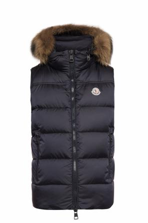 Quilted hooded vest od Moncler