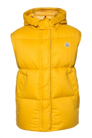 Quilted vest with logo od Moncler