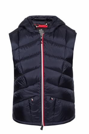 'rossiniere' quilted down waistcoat od Moncler Grenoble