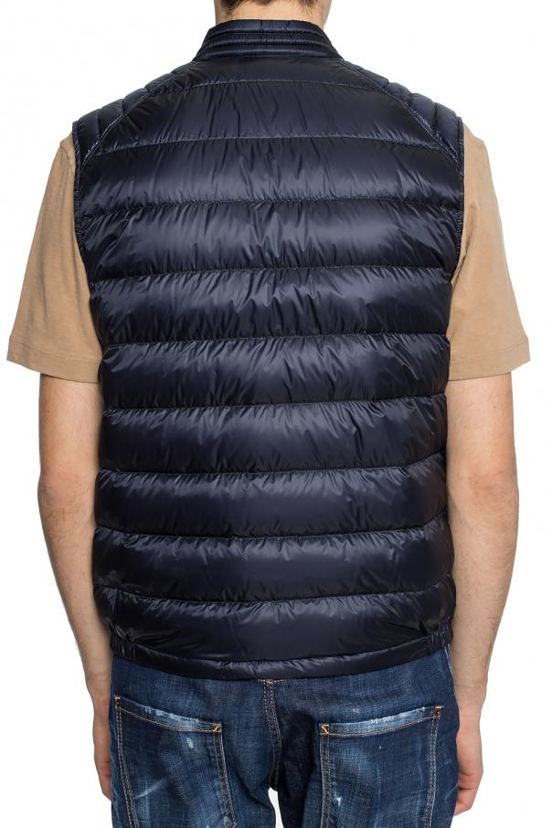 'arv' quilted down vest with logo od Moncler