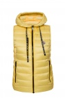 'sucrette' quilted down vest with logo od Moncler