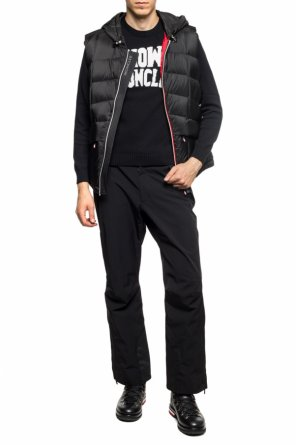 'rossiniere' quilted down vest od Moncler Grenoble