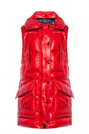 'myra' quilted down vest od Moncler Grenoble