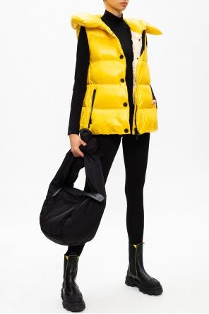 Hooded down vest od Moncler Grenoble