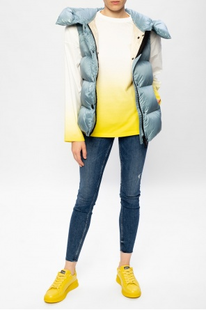 Hooded quilted down vest od Moncler Grenoble