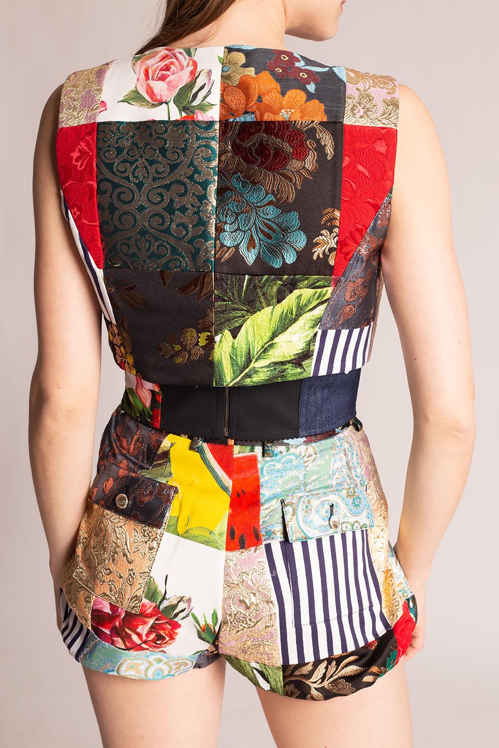 Dolce & Gabbana 图案背心