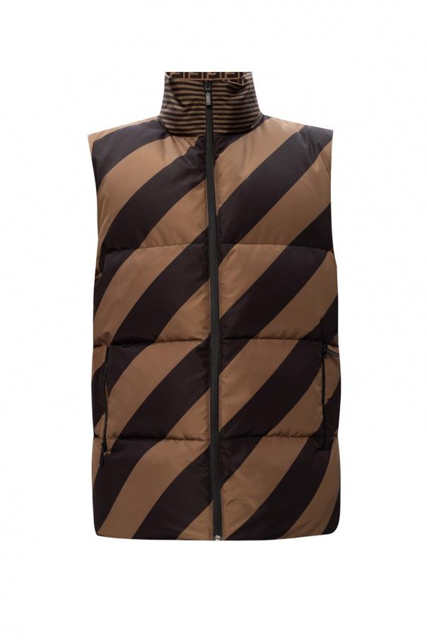 Fendi Reversible down vest