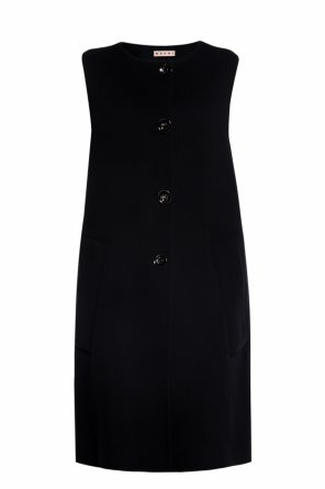 Vest with decorative buttons od Marni
