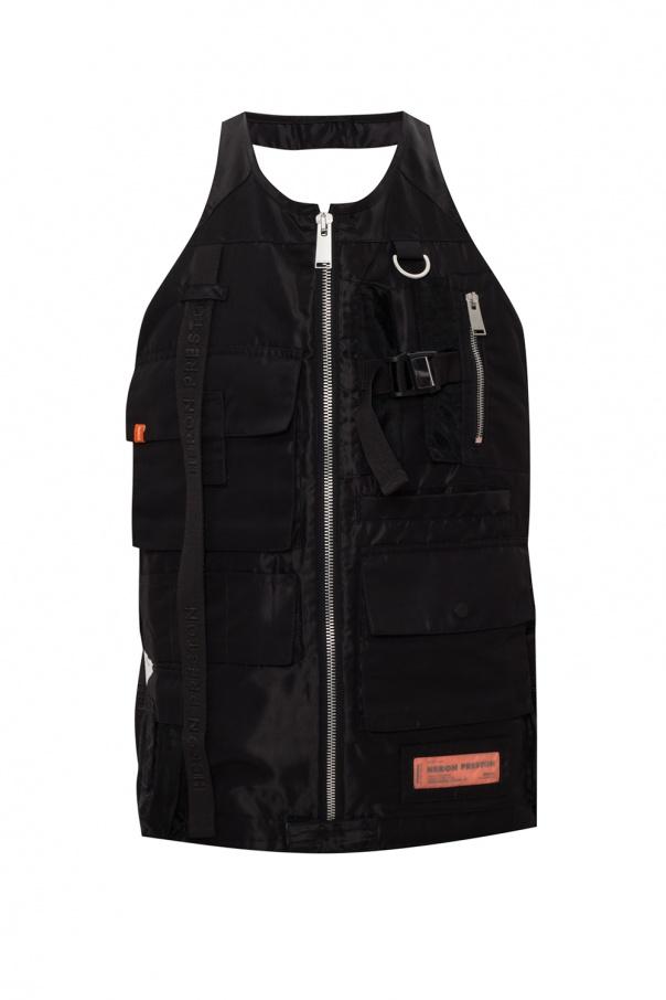 Heron Preston Vest with open back