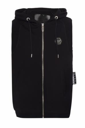 Vest with ribbed inserts od Philipp Plein