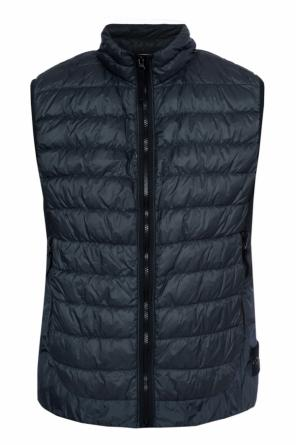 Quilted down jacket od Stone Island