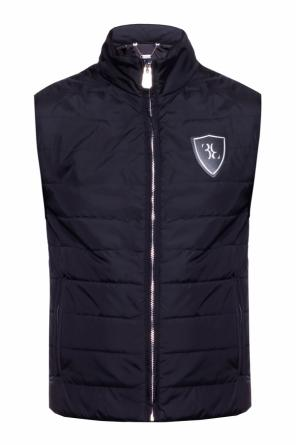 Quilted vest with logo od Billionaire