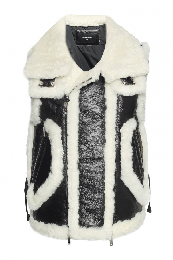 Vest with pockets od Dsquared2