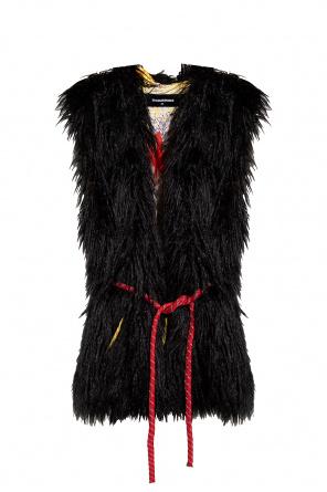 Faux-fur vest od Dsquared2