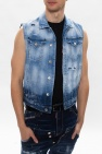 Dsquared2 Distressed denim vest