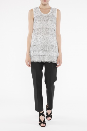 Lace-trimmed top od Victoria Victoria Beckham