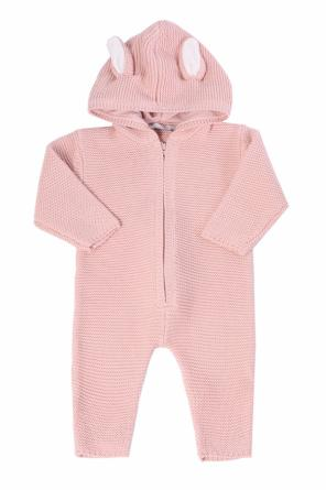 Hooded romper suit od Stella McCartney Kids