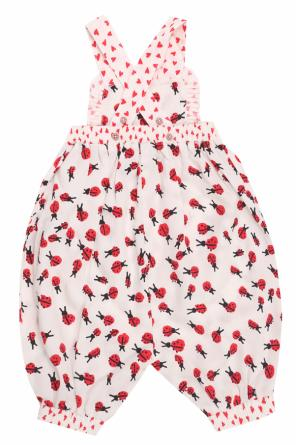 Dungarees with a pattern including a ladybug motif od Stella McCartney Kids