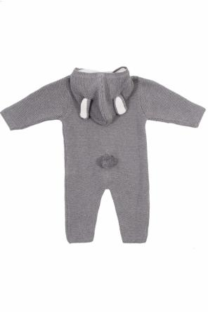 Onesie with an ear motif od Stella McCartney Kids