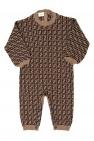 Fendi Kids Patterned romper suit