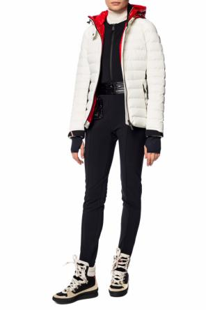 Ski suit with a patch od Moncler Grenoble