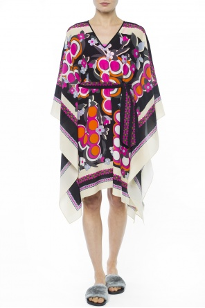Patterned oversize dress od Fendi