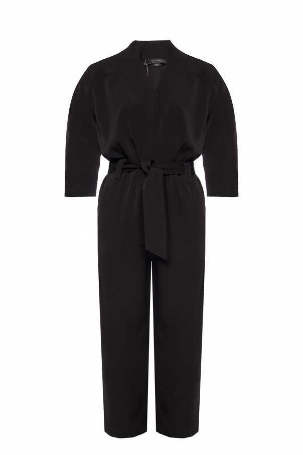 'Hayley' Jumpsuit With Decorative Fastening by All Saints