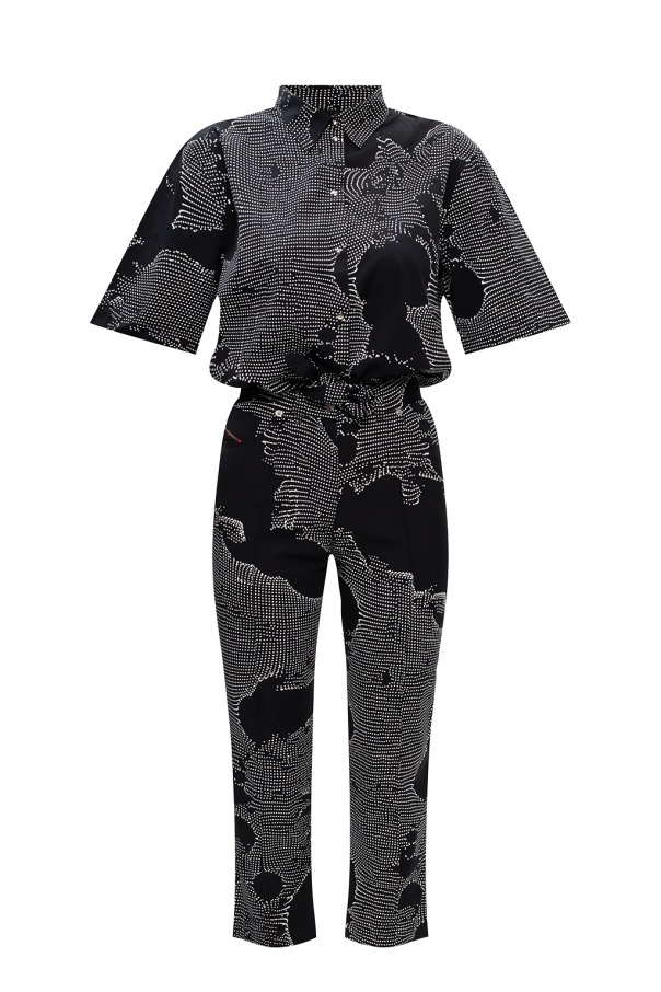 Diesel Patterned jumpsuit