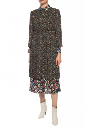 Patterned long sleeve dress od Junya Watanabe Comme des Garcons
