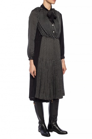 Patterned dress with long sleeves od Junya Watanabe Comme des Garcons