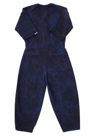 Patterned fleece jumpsuit od Diesel
