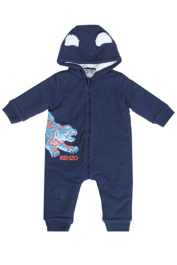 fbf30cb2f47d Hooded padded jumpsuit Kenzo Kids - Vitkac shop online