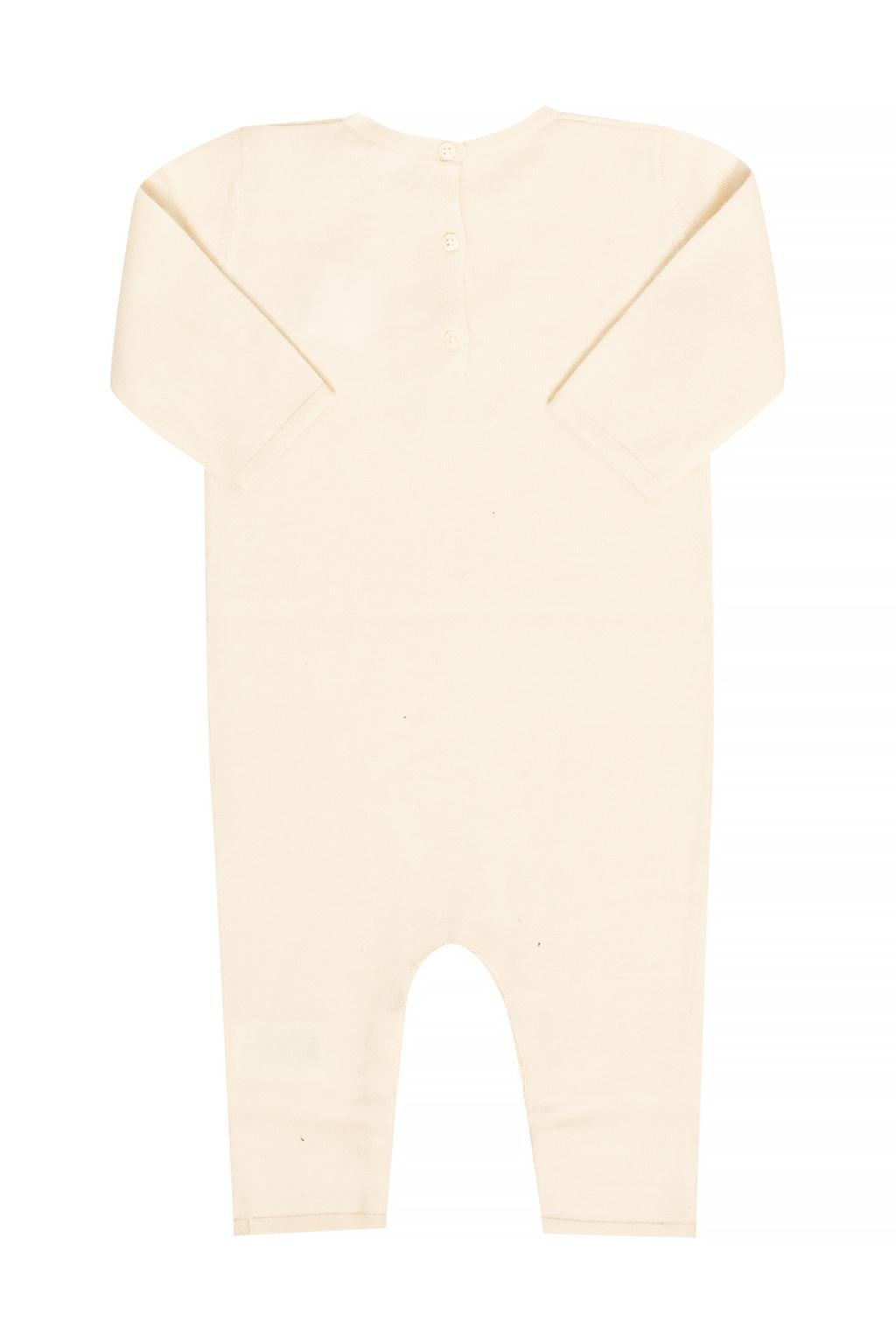 Bonpoint  Cashmere romper suit