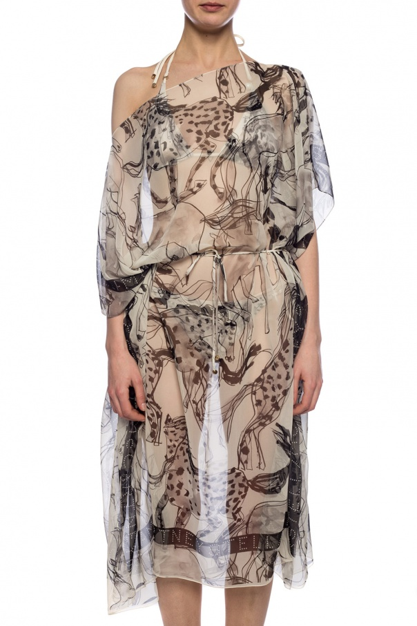 Silk poncho od Stella McCartney