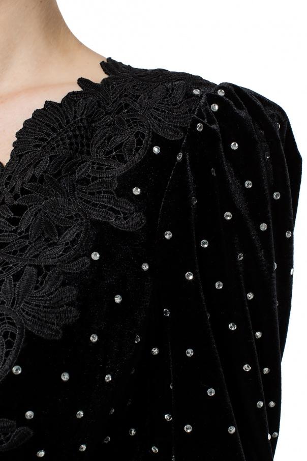 549d77d9831 Lace-trimmed jumpsuit Self Portrait - Vitkac shop online