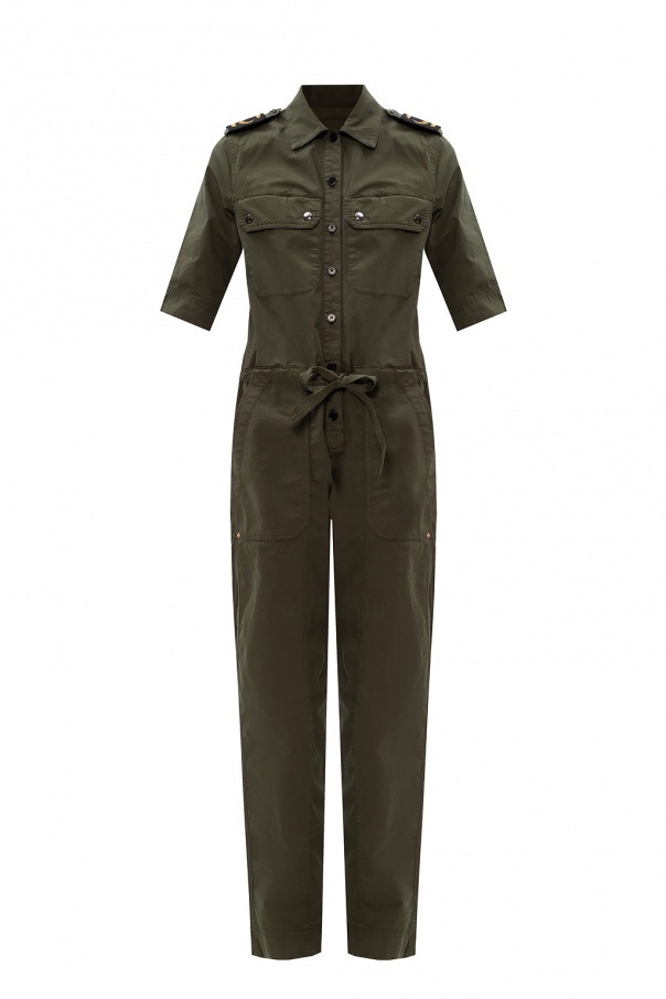 Zadig & Voltaire Branded military jumpsuit