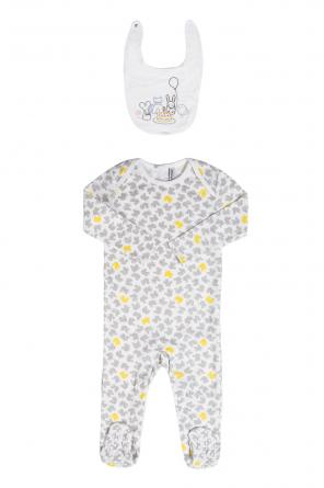 Romper suit & bib set od Stella McCartney Kids