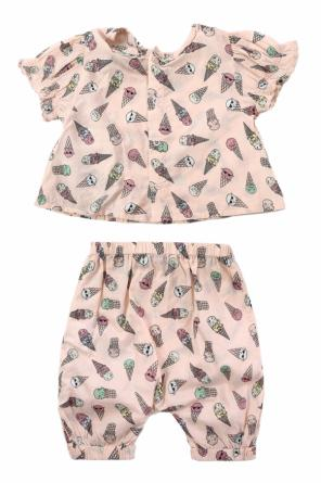 Komplet: t-shirt i spodnie od Stella McCartney Kids