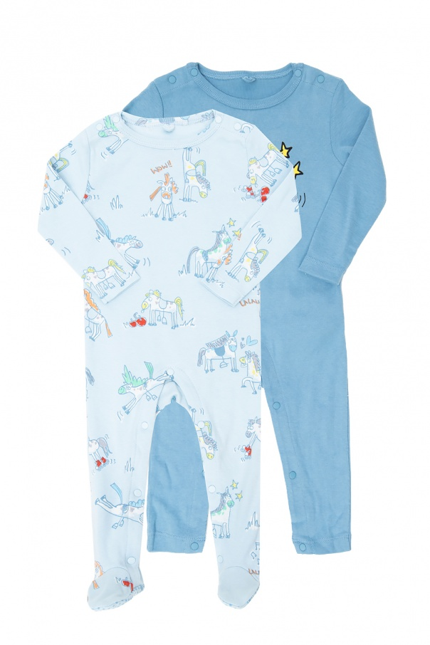 Stella McCartney Kids Bodysuit 2-pack