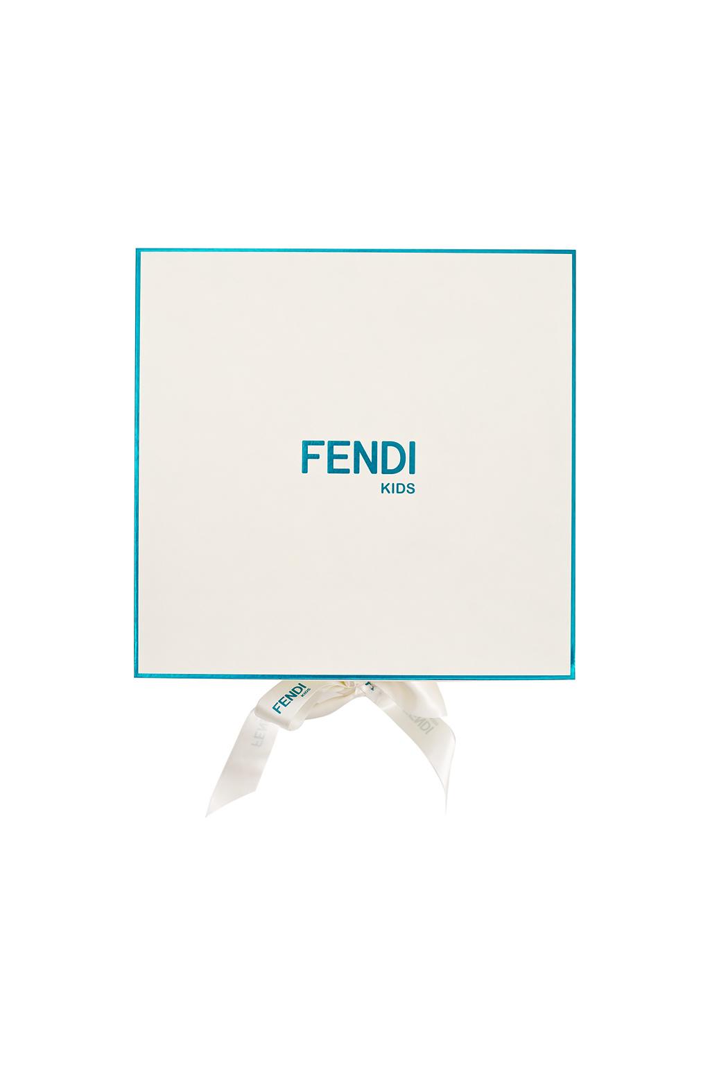Fendi Kids Cotton set with logo