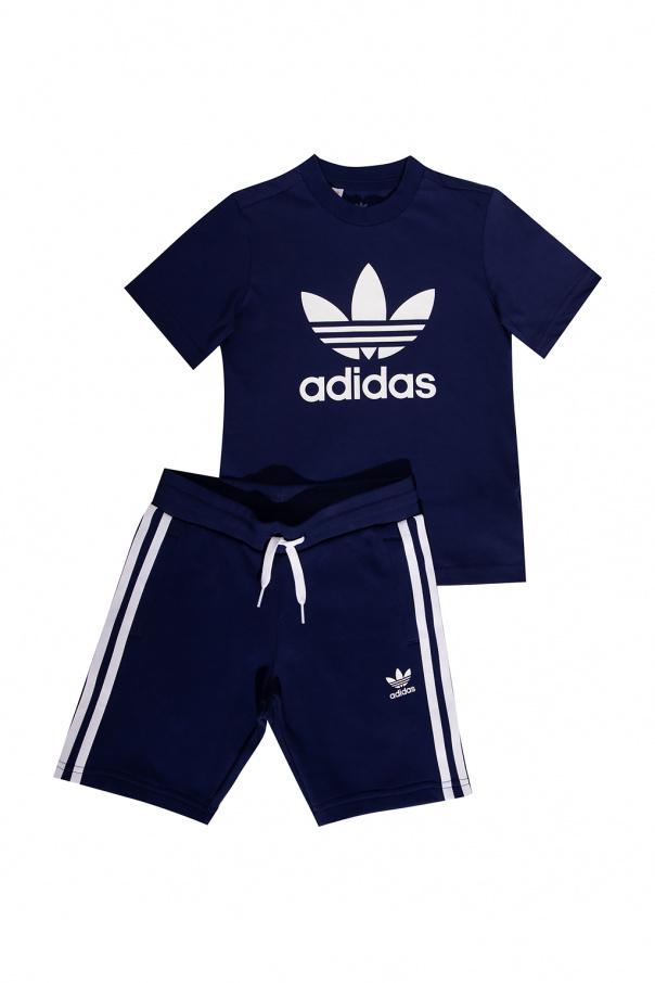 ADIDAS Kids T-shirt & shorts with logo
