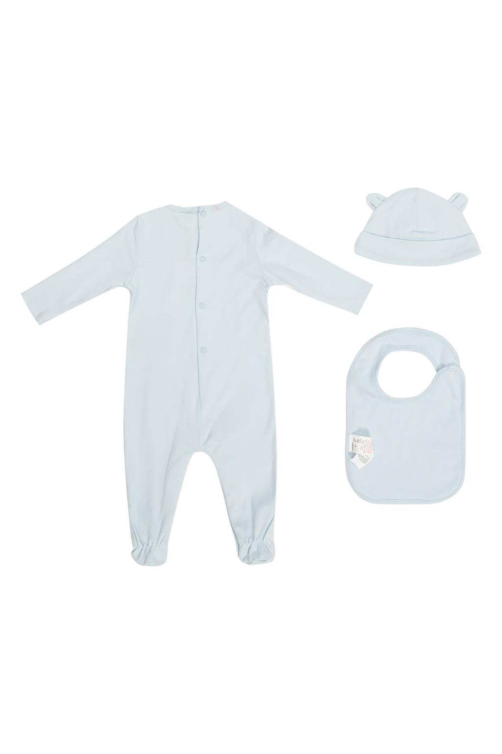 Kenzo Kids Romper suit, hat & bib set