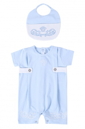 Romper suit & bib kit od Versace Young