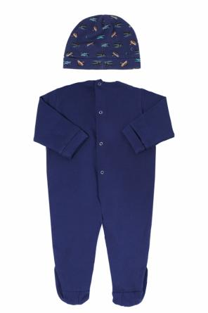 Romper suit & hat kit od Versace Young