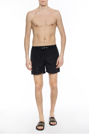 Logo swimming shorts od MSGM