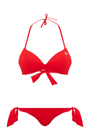 Two-piece swimsuit with logo od Emporio Armani
