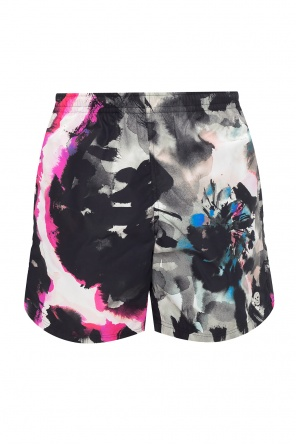 Patterned swim shorts od Alexander McQueen